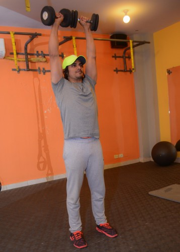 Adnan Coure fitness