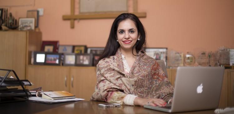 Kashf Foundation roshaneh zafar