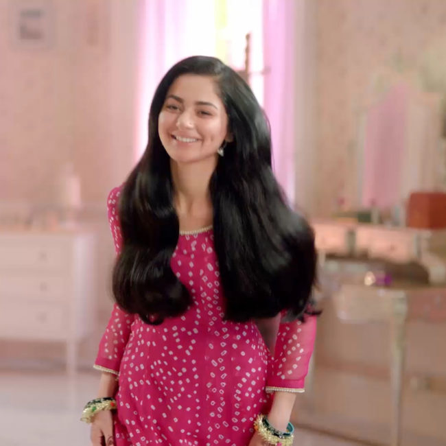 Sunsilk Ad Girl Name