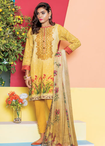 Satrangi Lawn - Three Piece Unstitched
