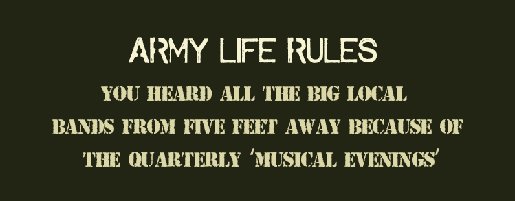 Life of An Army Brat