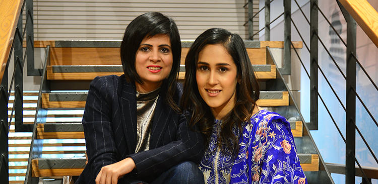 Gul Ahmed Collection - mira sethi amna niazi