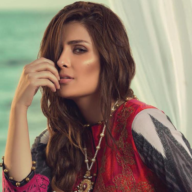 Alkaram Spring/Summer Collection 2018 Featuring Ayeza Khan
