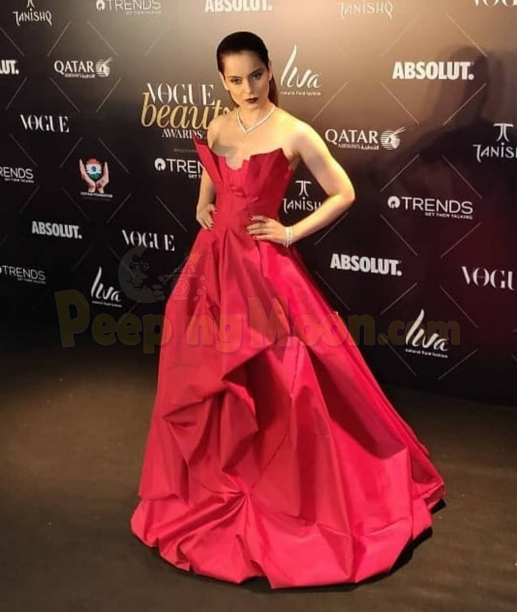 Kangna Ranaut - Vogue Beauty Awards 2018