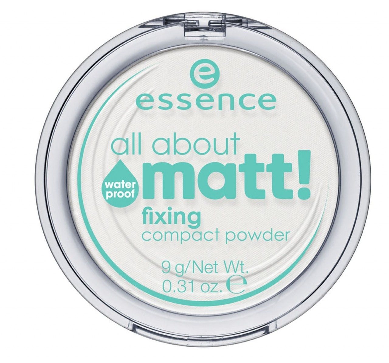 essence cosmetics - waterproof fixing compact powder