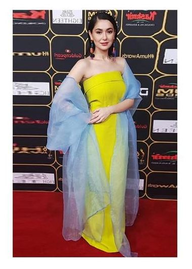 hania amir - 6th Hum Awards