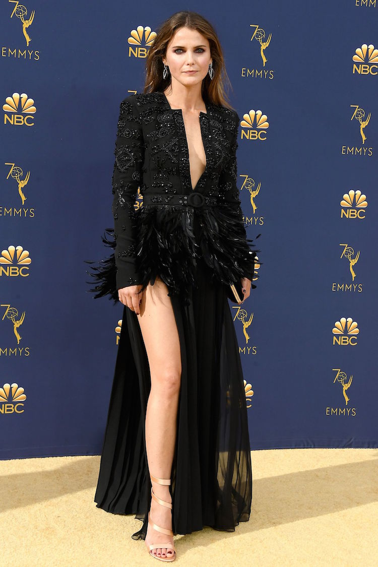 Keri Russell in Zuhair Murad - Emmy Awards 2018