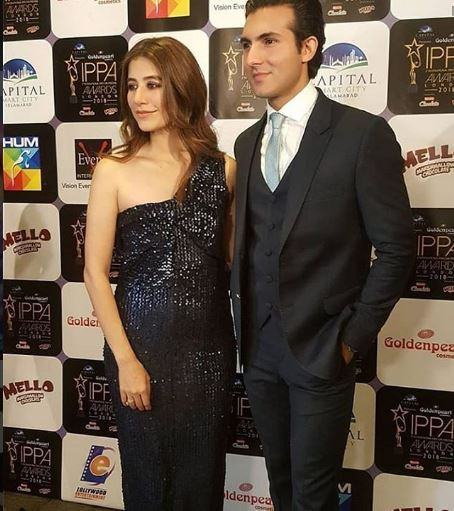 Mr & Mrs Shahroz  - best dressed at IPPA awards 2018