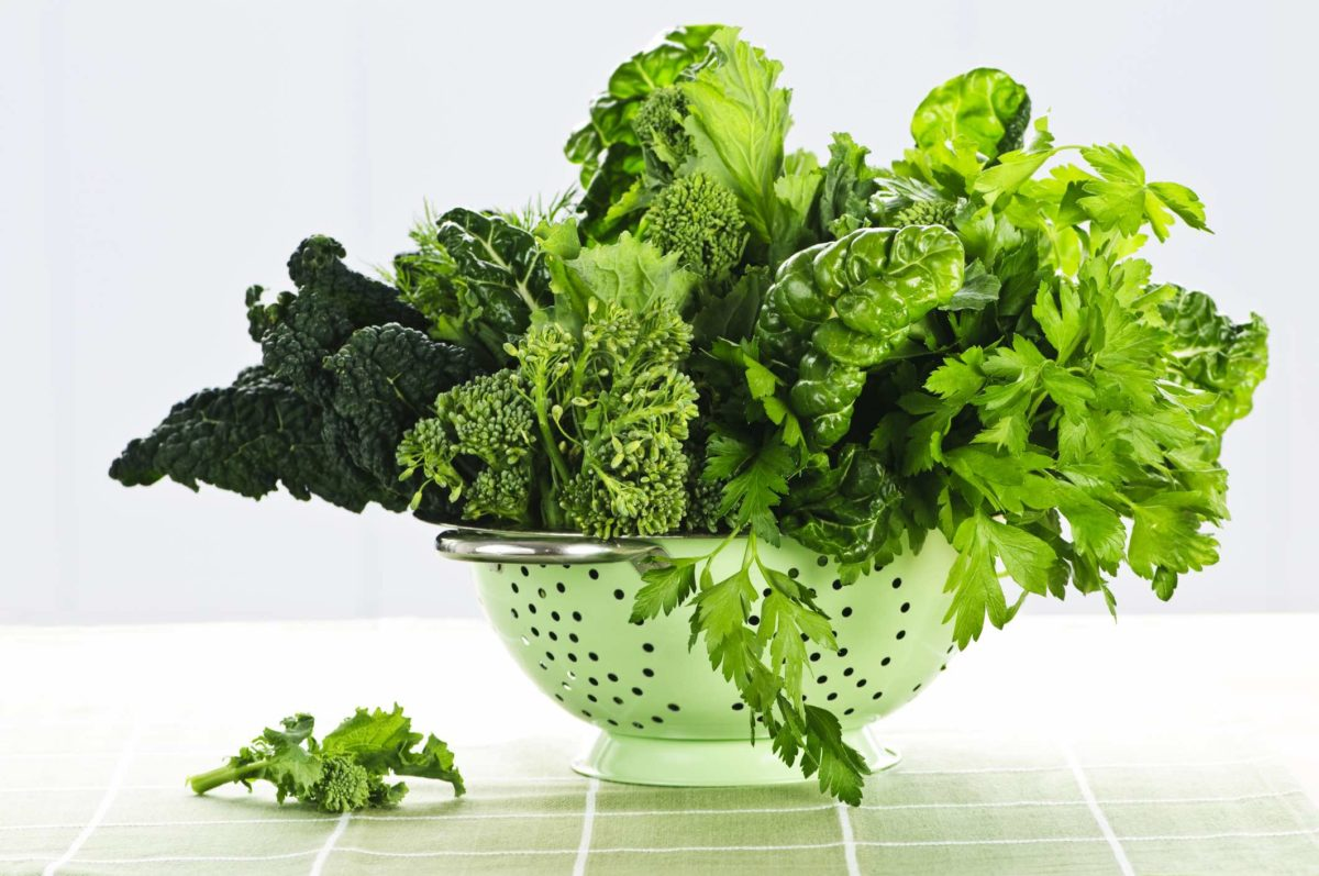 dark leafy greens are super foods
