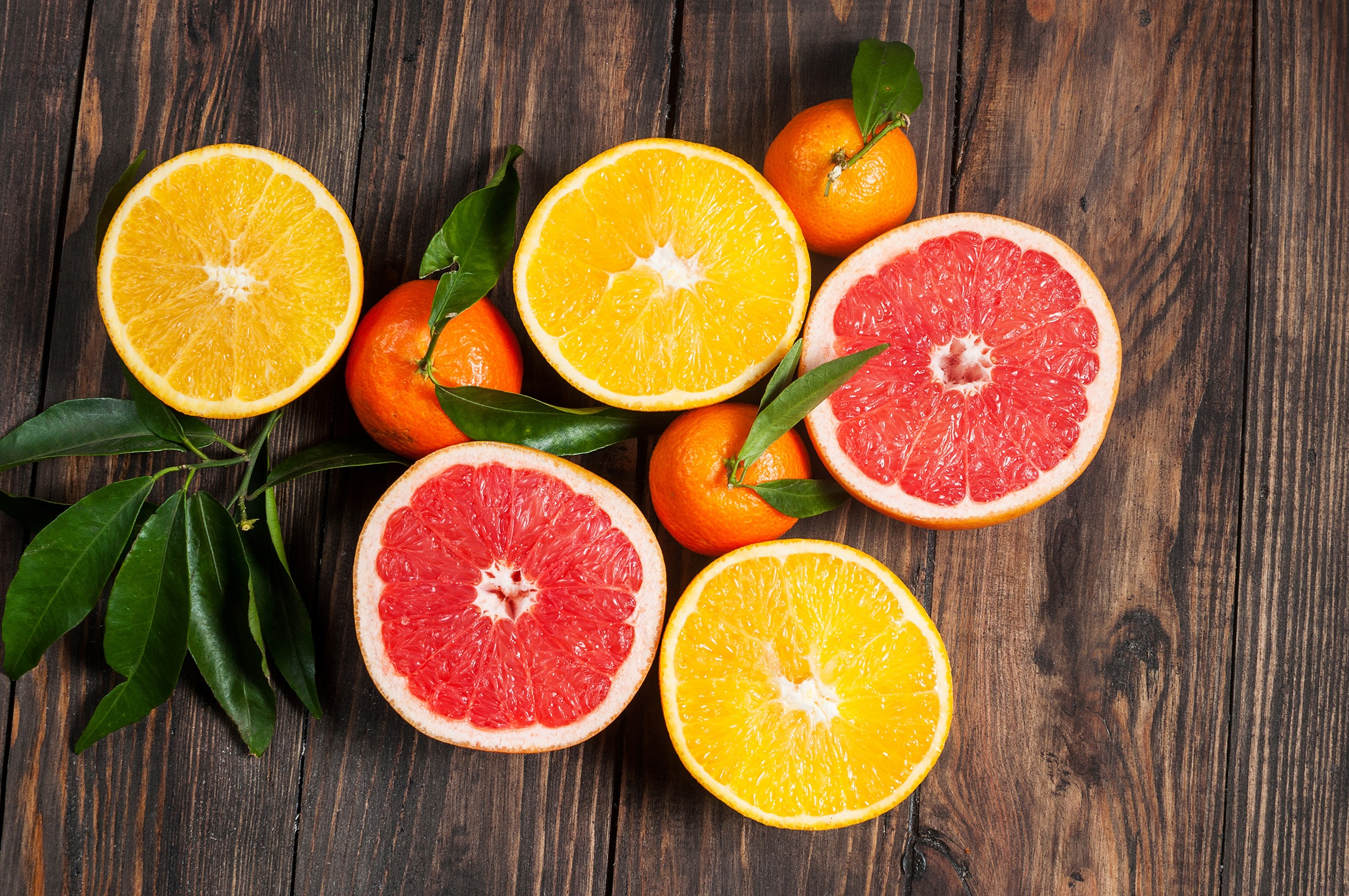 citrus fruits are good