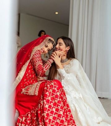 SABOOR ALY AND SAJAL ALY