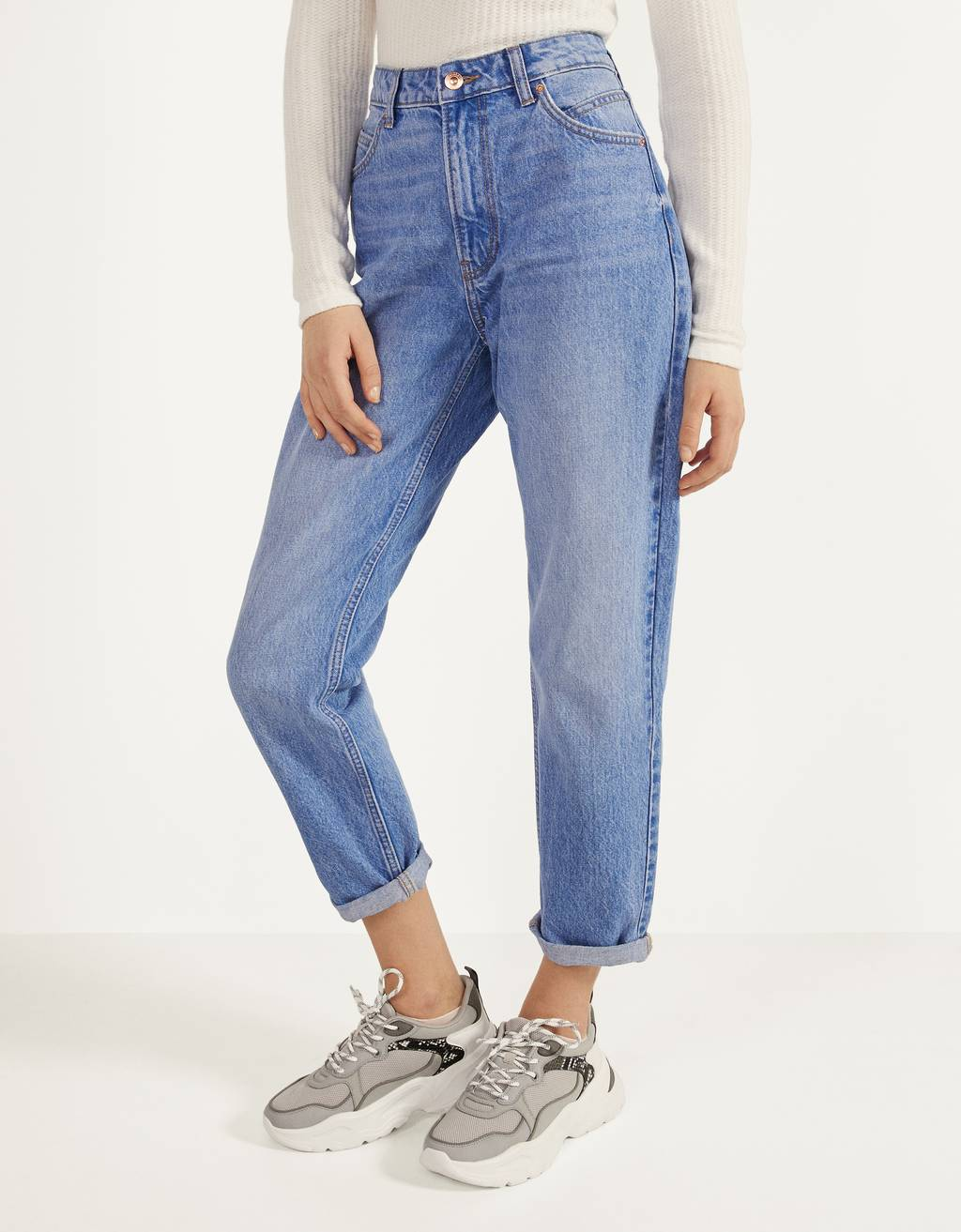 denim style: mom jeans