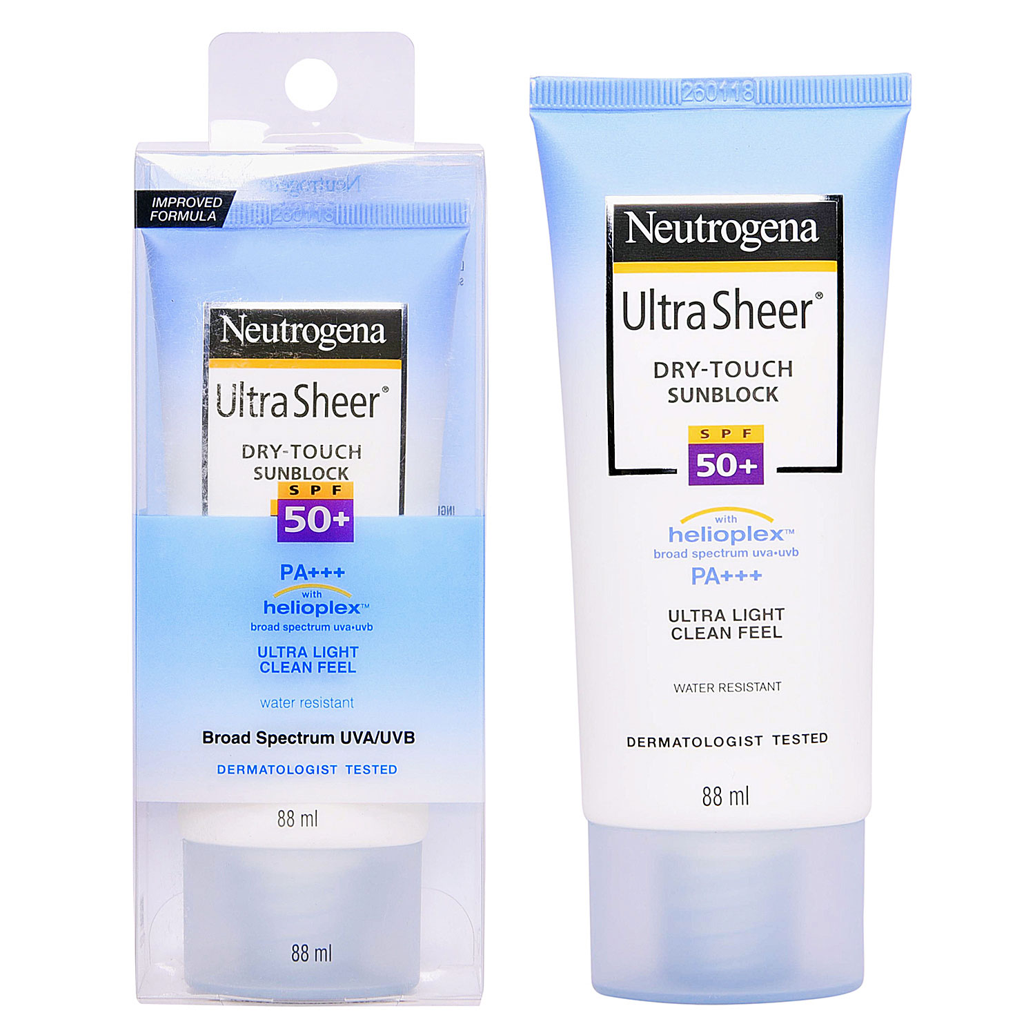 sunscreens neutrogena