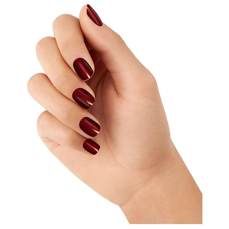 nail color trends deep wine