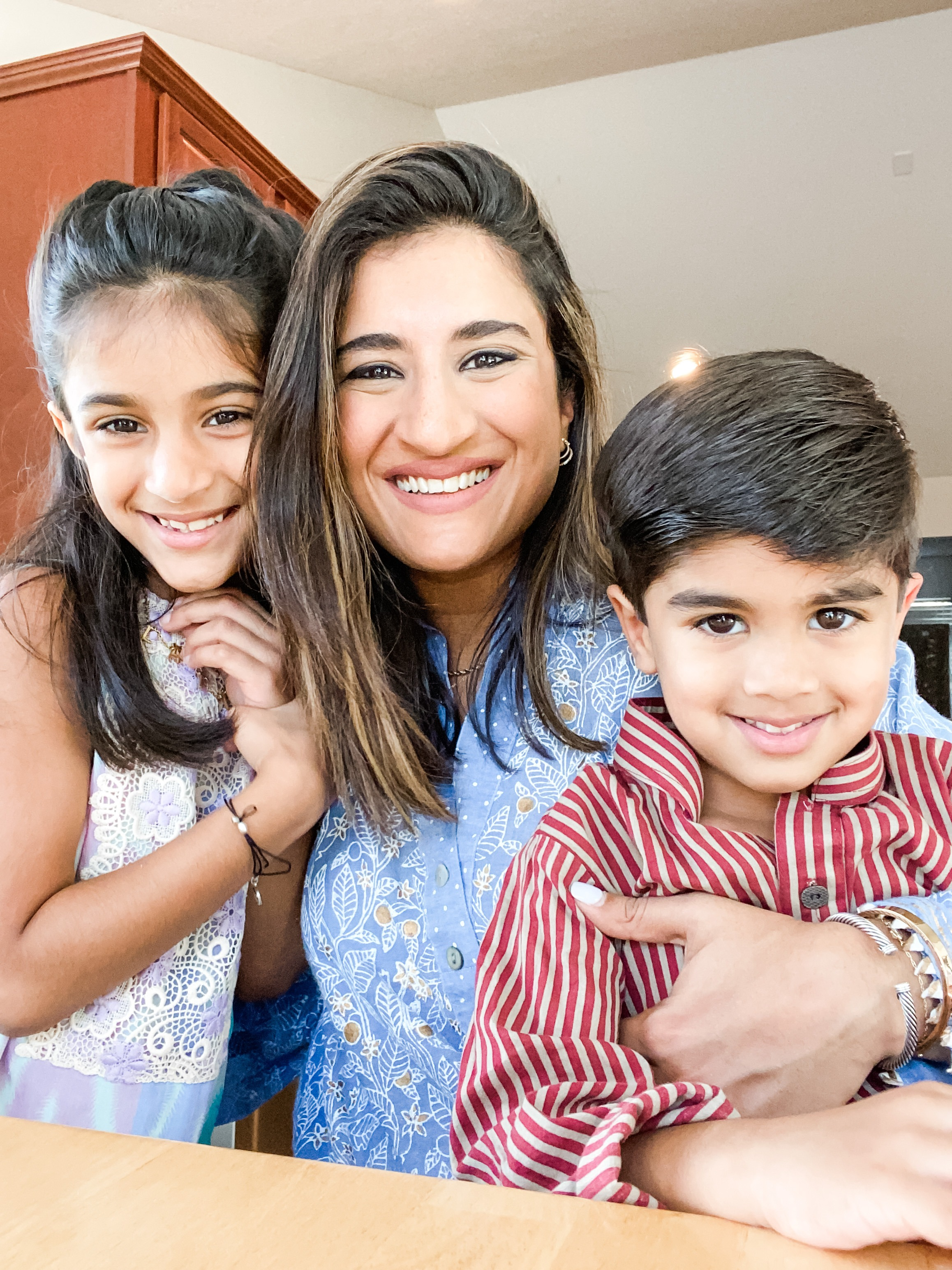 Pakistani Expat Influencers: Marium Hosein with kids