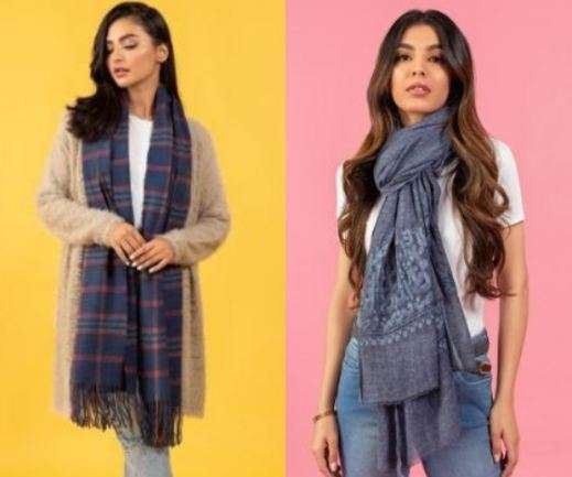 GUL AHMED IDEAS: SHAWLS AND STOLES