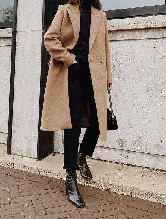 NEUTRALS: oversized long coats