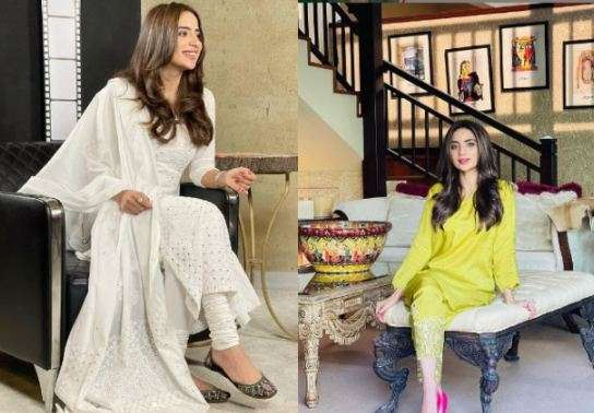 SANA JAVED & ALIZEH SHAH CELEBRITY STYLE: SABOOR ALY