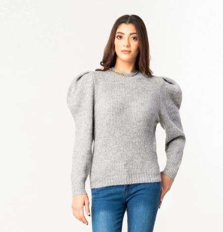 BTW SALE: rooster grey sweater