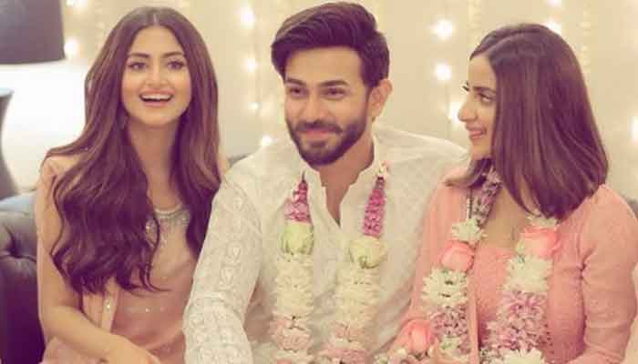 Ali Ansari engaged to Saboor Aly