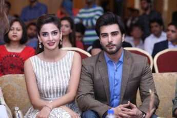 Imran Abbas and Saba Qamar coming together for a project!