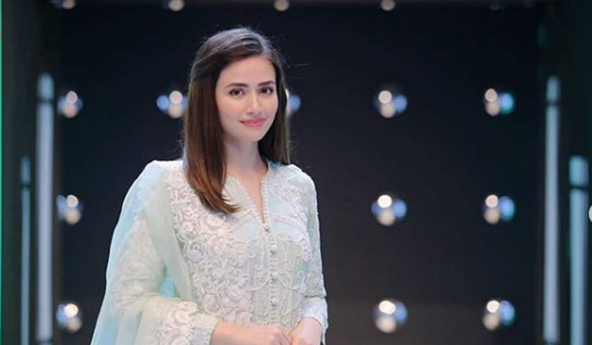 Feroze Khan and Sana Javed working together